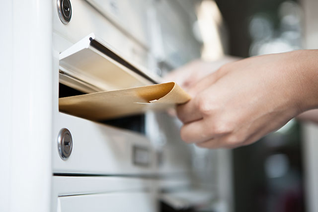 Mitglieder werden ganz einfach per Post informieren