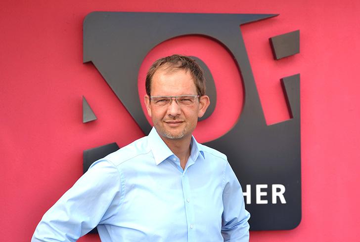 Oliver Fischer, der Geschäftsführer von LetterXpress